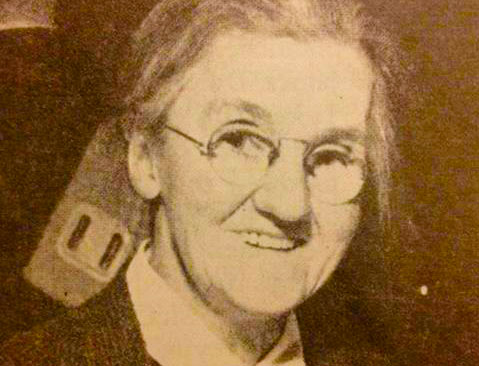 Trade Union leader and Irish revolutionary Rosie Hackett
