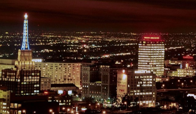 Richfield Tower, downtown Los Angeles 1967
