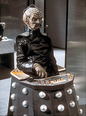 Michael Wisher as Davros in Genesis of the Daleks.