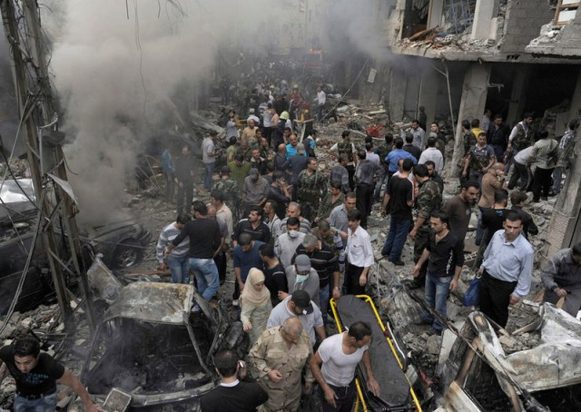 war in syria people
