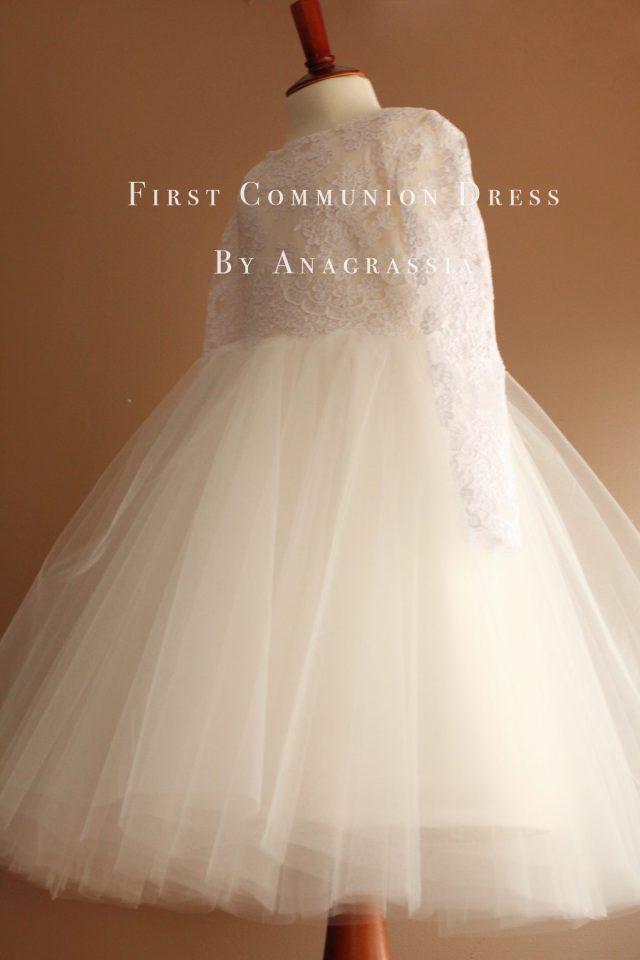 Isabel 2 Communion Dress 2015