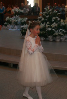 Ivory White First Holy Communion Dress