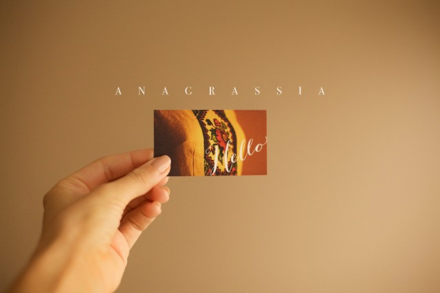 Anagrassia photo business cards with tiny prints shutterfly signature matte