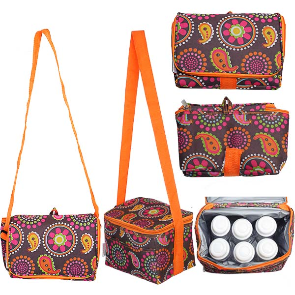Autumnz - Fun Foldaway Cooler Bag (Kaleidoscope)