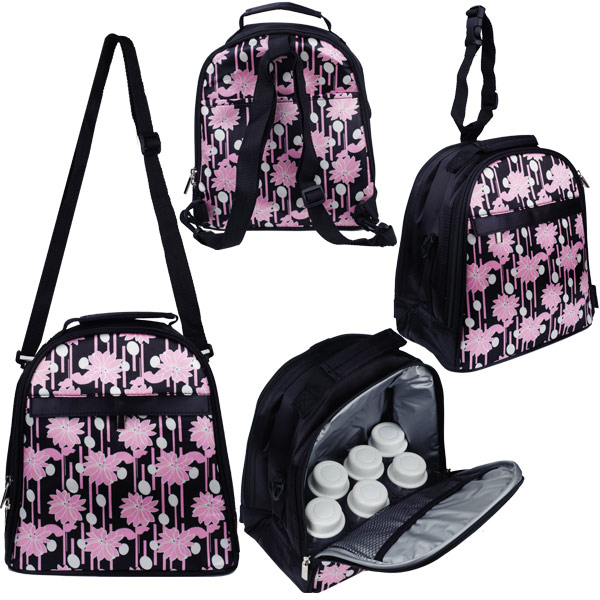 Autumnz - Classique Cooler Bag with *FREE GIFT* (Pink Daisy)
