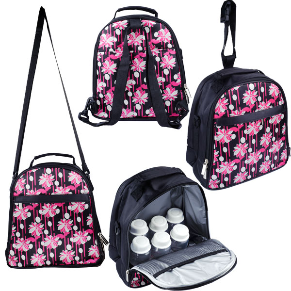 Autumnz - Classique Cooler Bag with *FREE GIFT* (Magenta Daisy)