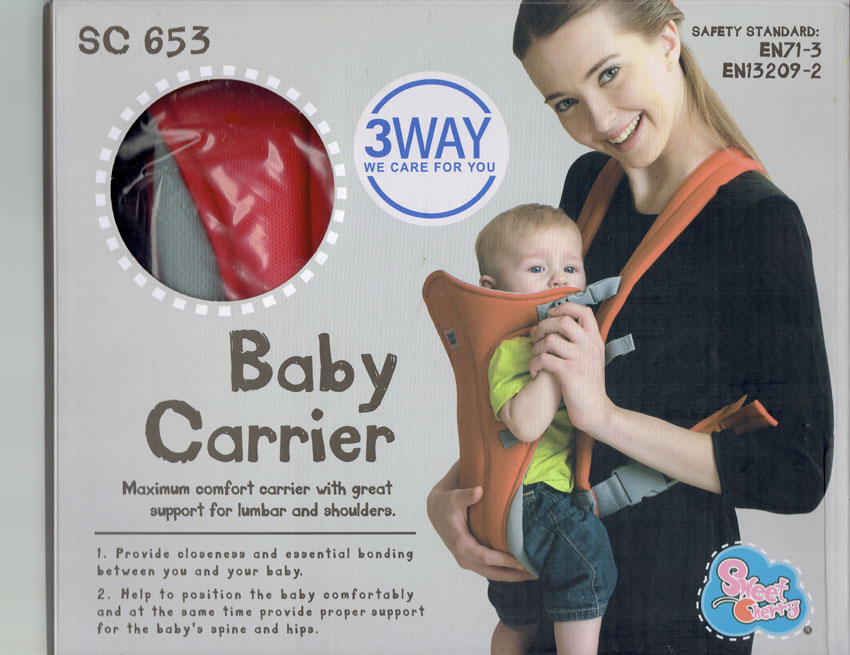 Baby Crotch TRC Carrier Sweet Cherry SC653
