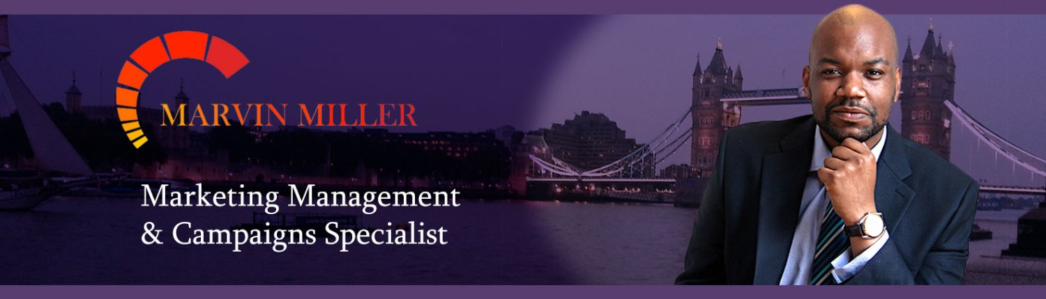 Marvin Miller smart marketing management and campaigns specialist