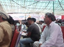 Comared Babu William in May Day program in Faisalabad