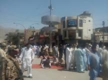 Quetta-Young Doctors & Paramedics Sit-in Protest 04