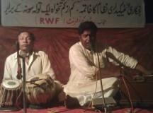 Ustad Nasir Khan Performing at May Day Program Lahore