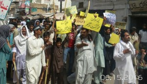 Kallur kot - Protest and Rally against loadshedding (2)