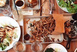 """The menu at Social Kitchen & Bar in the Downtown Market features """"refined comfort food."""""""