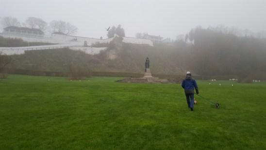 Foggy Doggy Walking