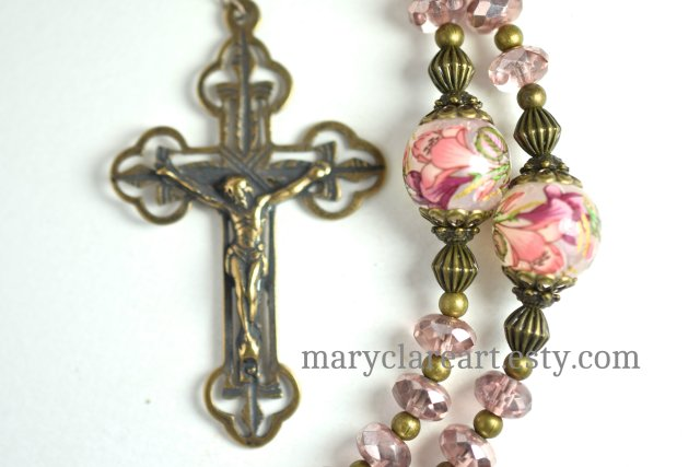 Consider The Lilies Handcrafted Rosary