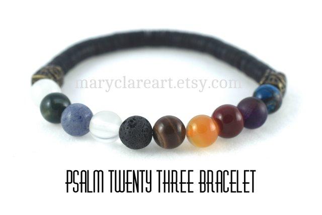 Psalm 23 Bracelet 8 mm