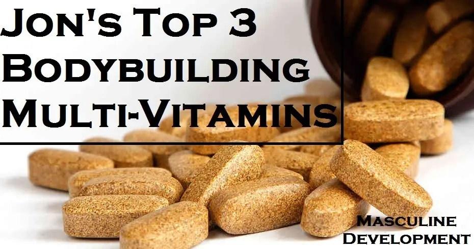 best bodybuilding multivitamin masculine development