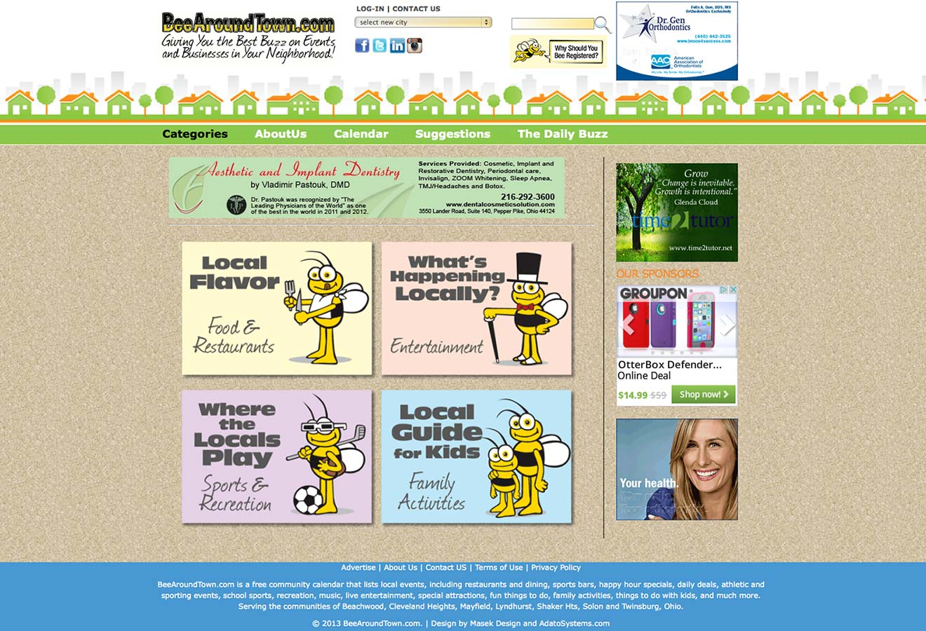 Bee Around Town Website