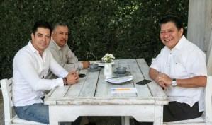 Matias Quiroz y Rodolfo Tapia
