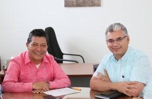 DR. Matías Quiroz y Lic. Lucio Hernández