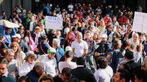 Protesta profe IEBEM3