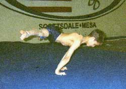Straddle planche