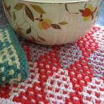 linoleum-dishcloth