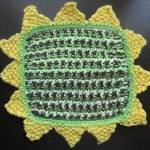 sunflower-dishcloth