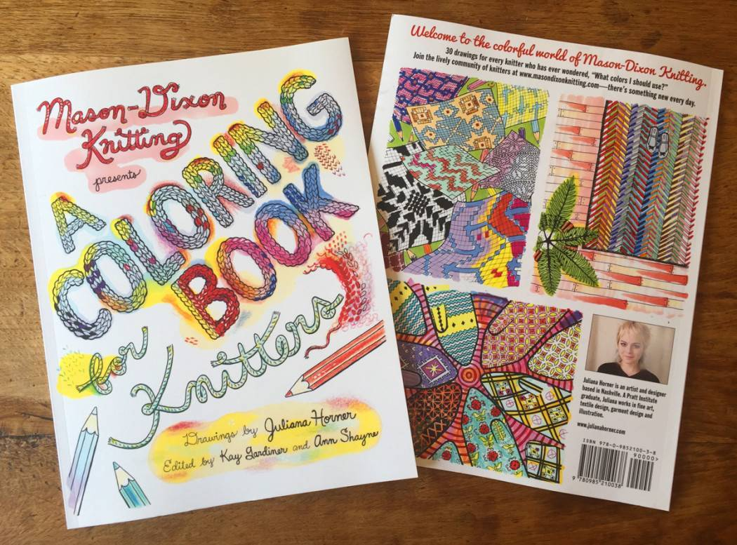 People Knitting Book : New and awesome a coloring book for knitters mason