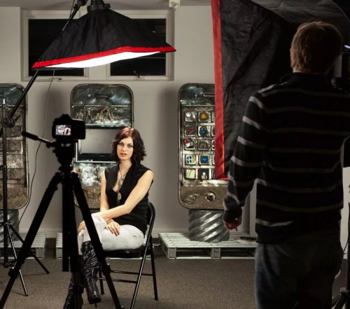 Mason sasha lighting demo 500x442 Working With a Video Production Company in the World of YouTube?