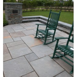 Small Crop Of Blue Stone Patio