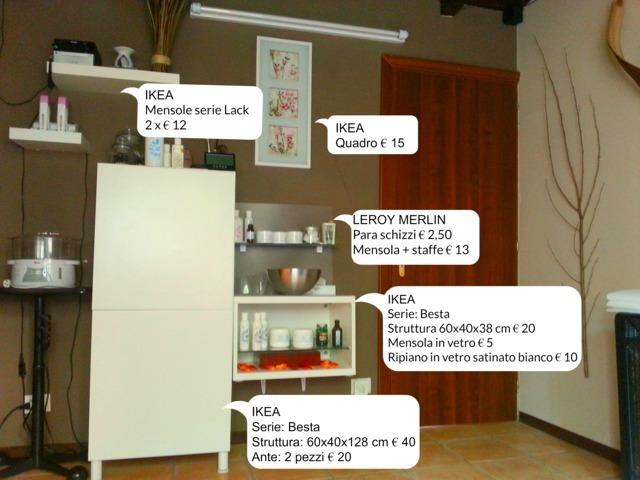allestimento studio massaggi - massaggi e consigli - Arredamento Centro Estetico Ikea