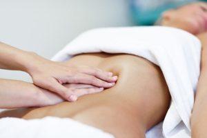 massaggio addominale
