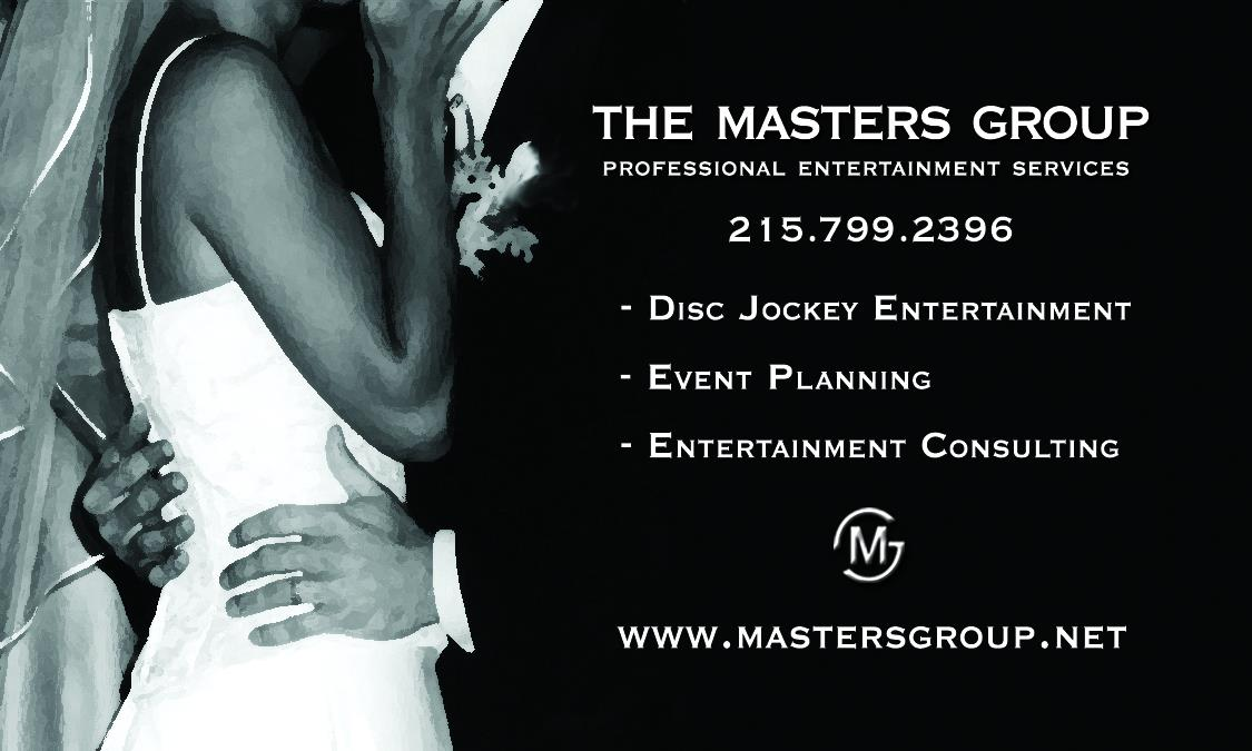 Your Philadelphia Wedding DJ - The Masters Group