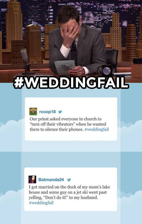 WeddingFail Hashtag