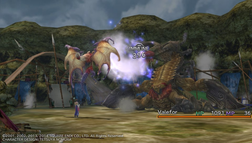 FFX Valefor in action