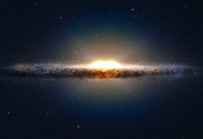 Coração da Via Láctea tem a forma parecida com um amendoim – Matéria Incógnita