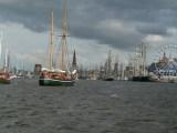 Im Rostocker Stadthafen sind wieder die Großsegler da
