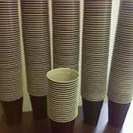 Die geilste Kaffeebechersammlung der Welt