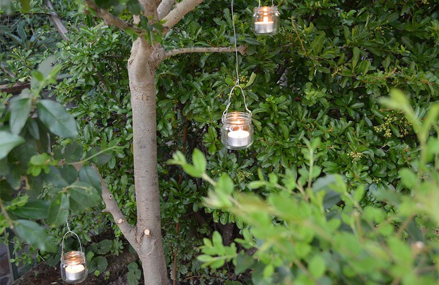 Fai da te: illuminazione giardino matrimonio - Matrimonio da Sogno