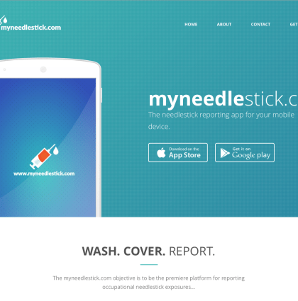 Needle Stick App/Marketing