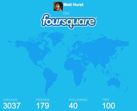 Thumbnail of Foursquare infographic - click to enlarge
