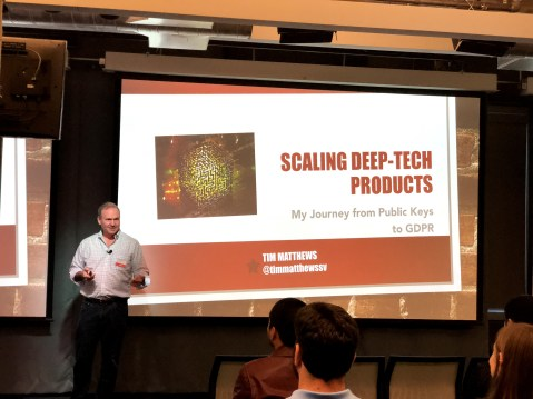 Speaking at Products That Count San Francisco