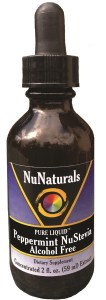 Liquid Peppermint NuStevia Alcohol Free