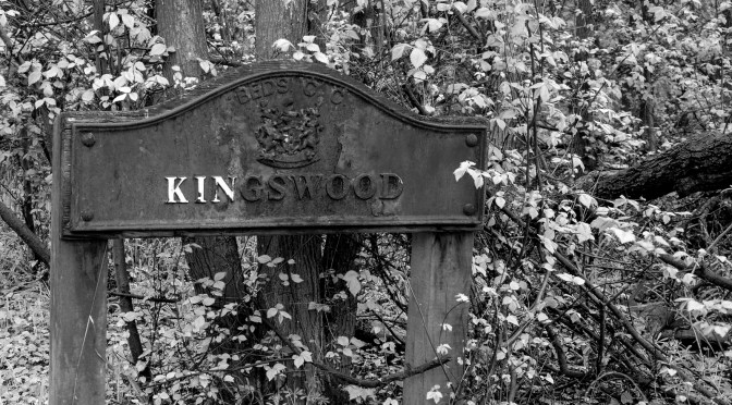 Maulden Kingswood Sign