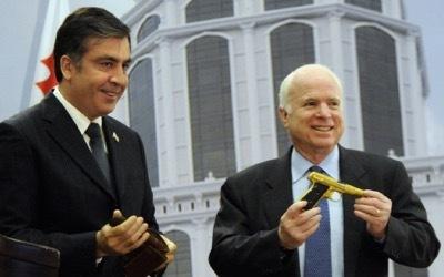Saakasvili e McCain