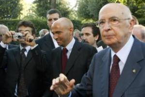 Napolitano col figlio Giulio, docente