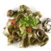 Pappardeli al nero de seppie Livro Chefs Pasta Chef Tonino Grieco