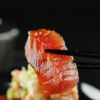 Sashimi de Atum com figo fresco Livro Caras Sonho Oriental Sushiman Adiano Kanashiro