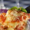 Raviole de Mussarela de búfala ao molho de tomates frescos e manjericão Brie Restô Chef Eliane Carvalho
